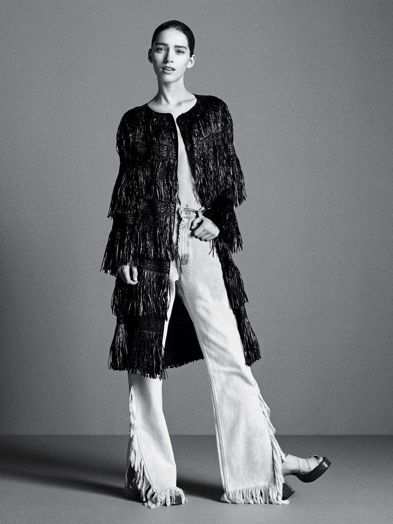 Milly fringe coat