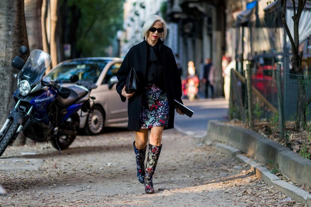 linda fargo milan fashion week