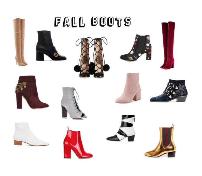 It boots for fall
