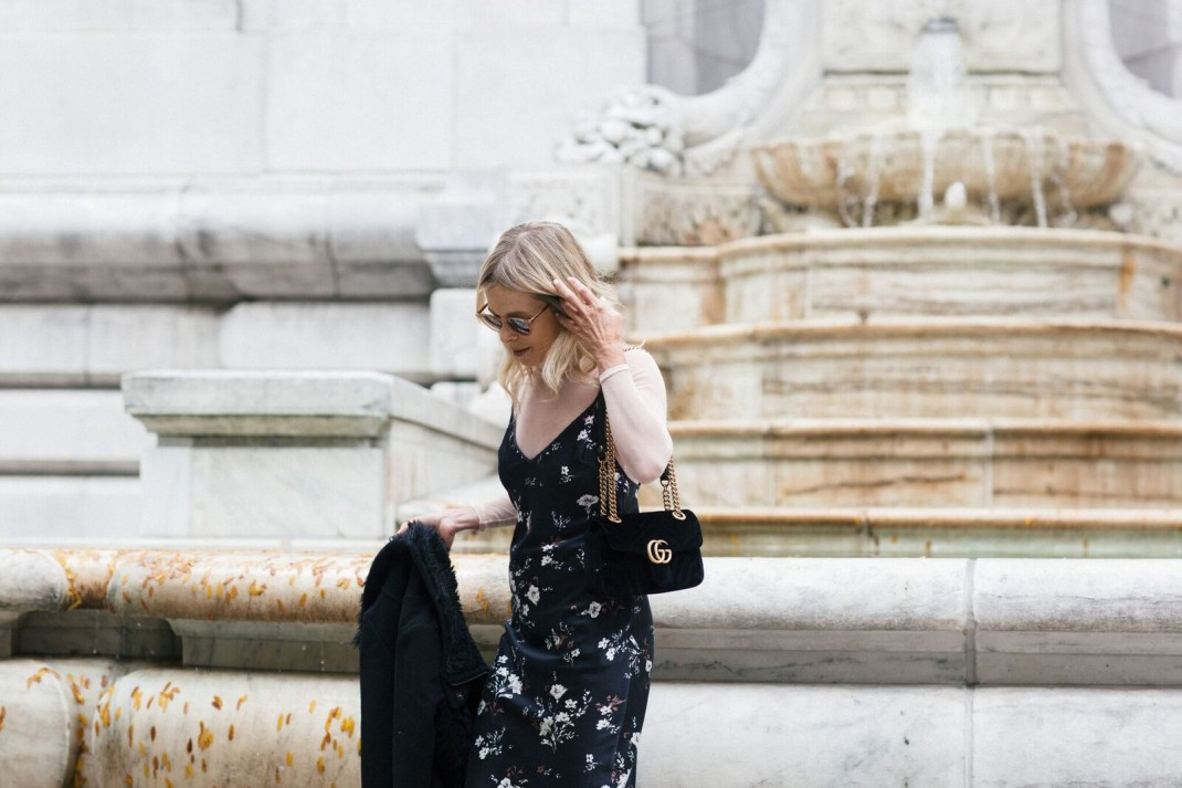 style a slip dress from day to night