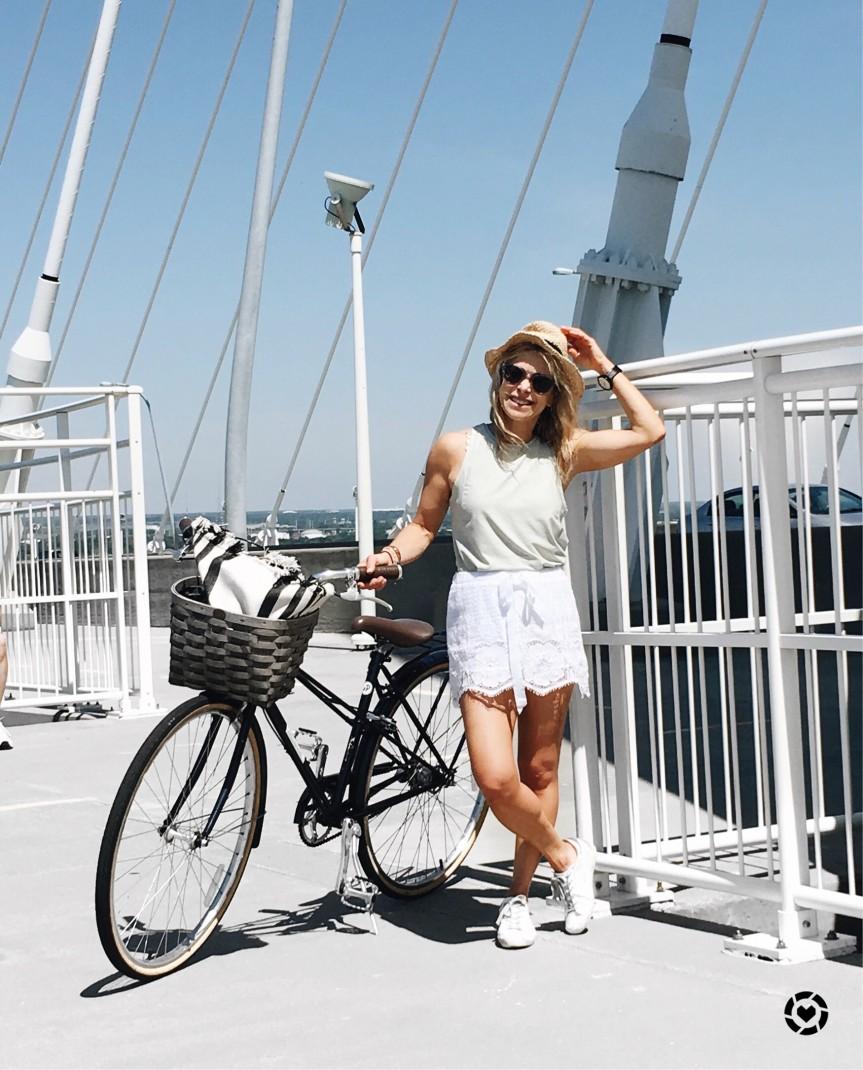 bike riding in charleston