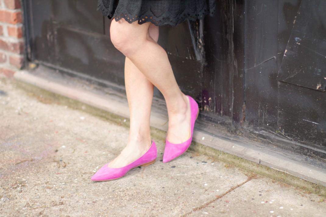pink flats