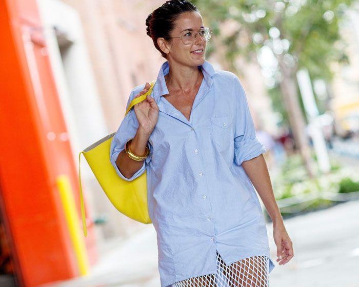 fishnet skirt