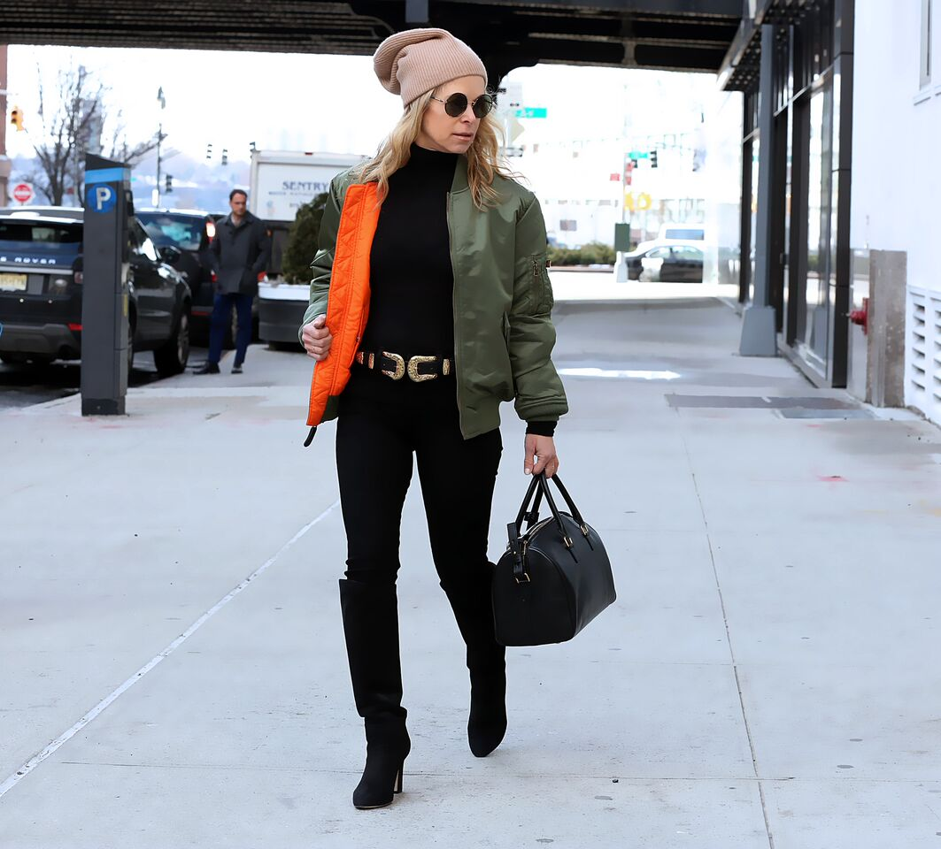 How to Nail a Chic Bomber Jacket Look