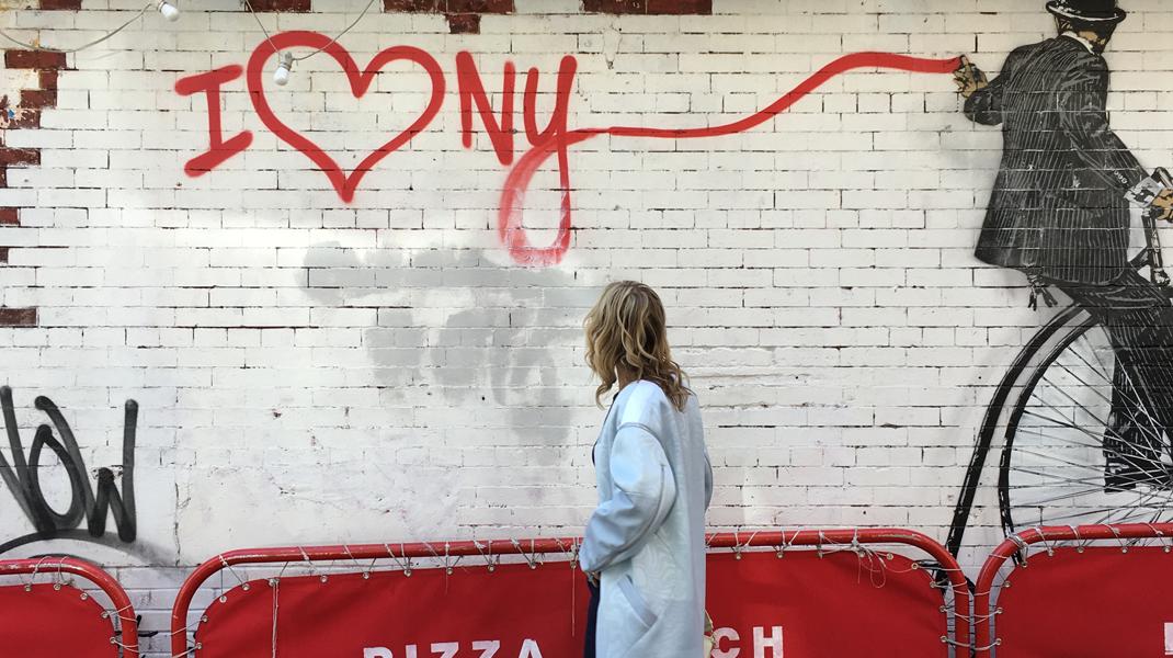 I love NYC banner fashion