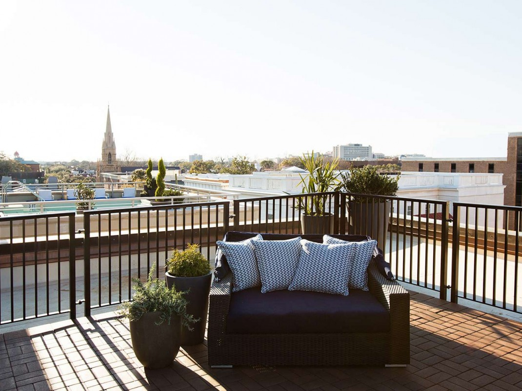 Restoration hardware rooftoop