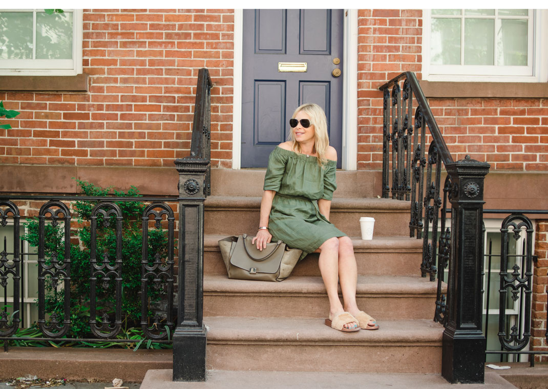 khaki dress for summer