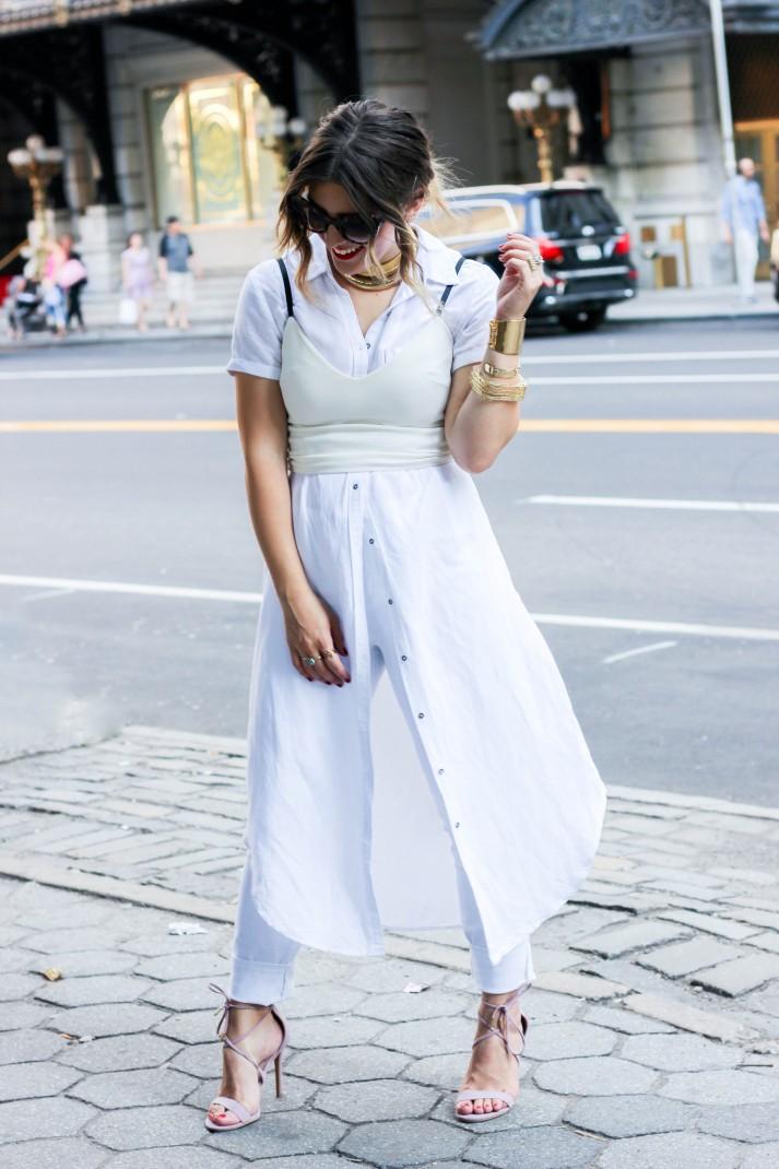 wear all white