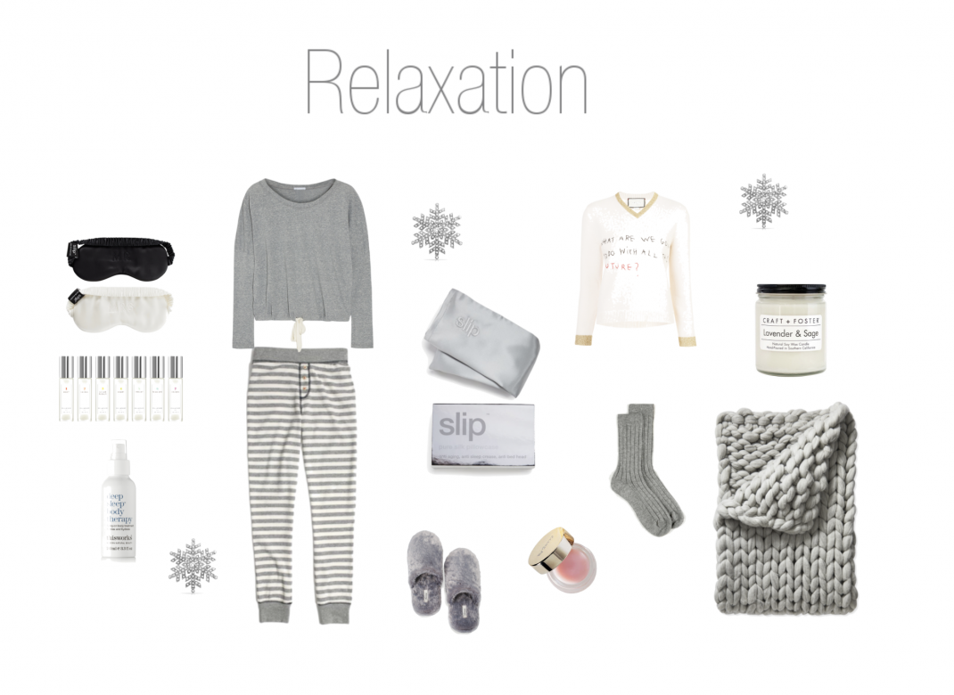 Relaxing gifts for the holidays