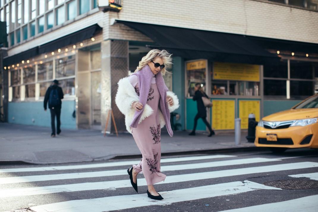 purple on the streets
